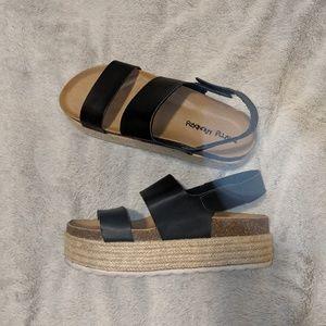 Heeled sandals espilladres Steve Madden
